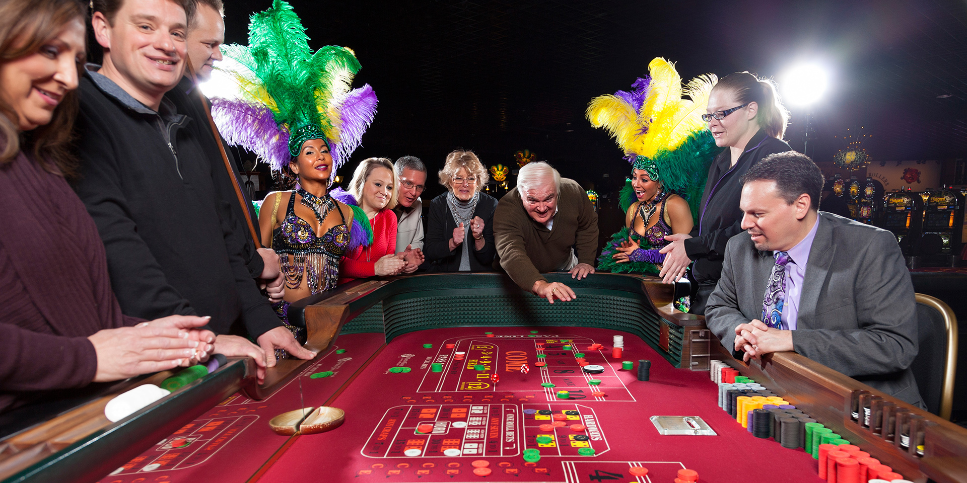 Mardi Gras Casino Table Games
