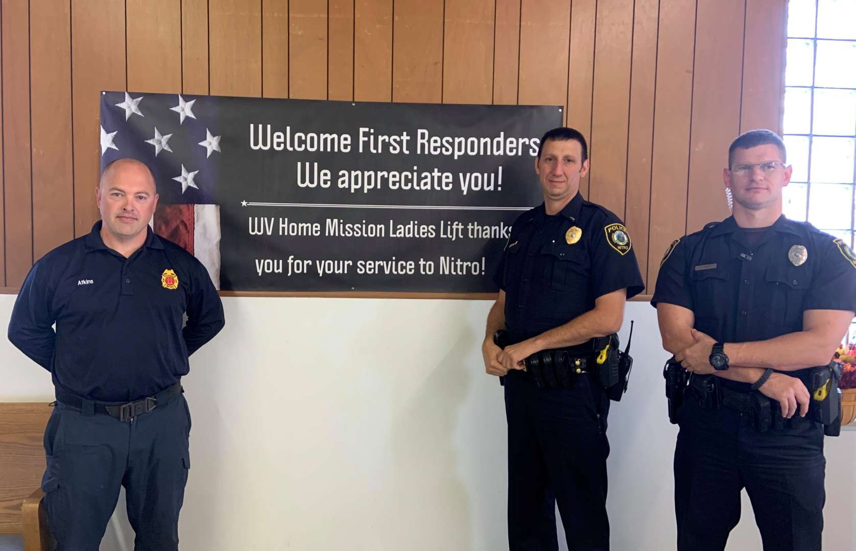 WV Home Mission Church 1st Responders Luncheon