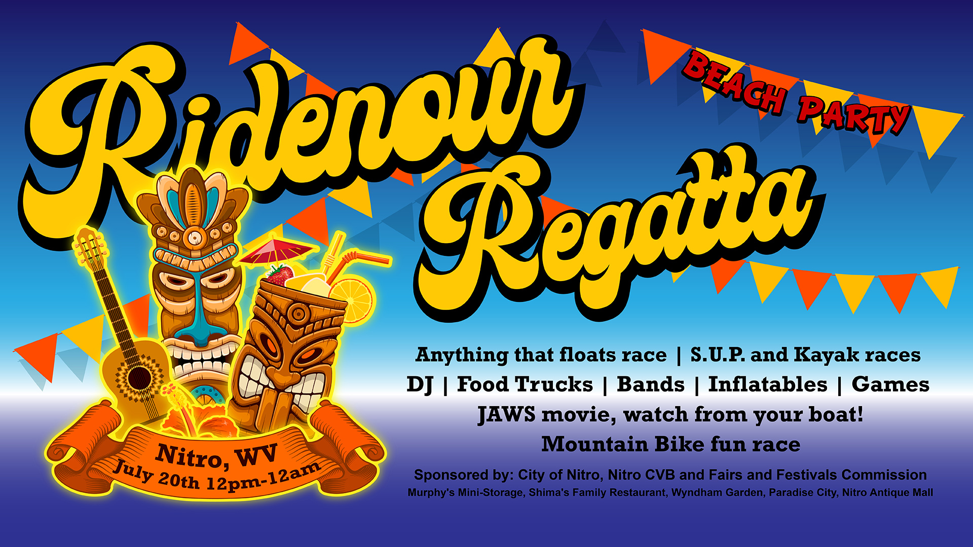 Ridenour Regatta FB Event Header