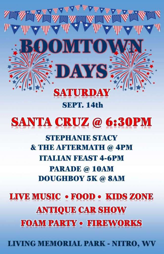 BOOMTOWN DAYS FLYER FB Cover