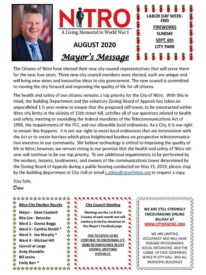 MSF Newsletter 072320